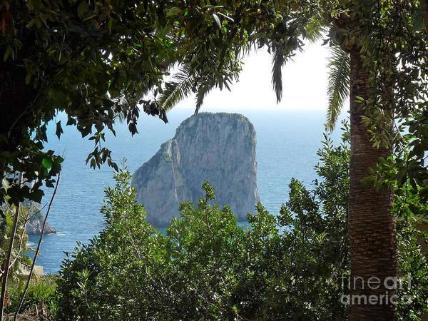 Photograph - Capri Cliffs by Lutz Baar
