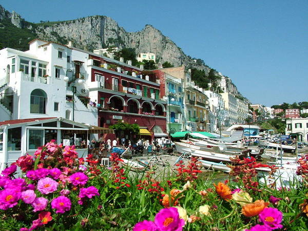 Photograph - Capri by Donna Corless