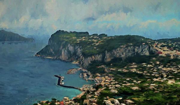 Wall Art - Digital Art - Capri Italy by Russ Harris