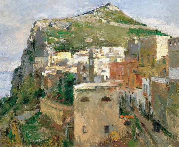 Painting - Capri by Theodore Robinson