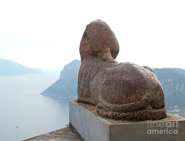 Photograph - Capri, Villa San Michele 1 by Wilhelm Hufnagl