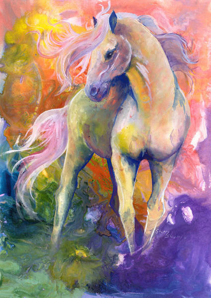 Painting - Capricious by Sherry Shipley