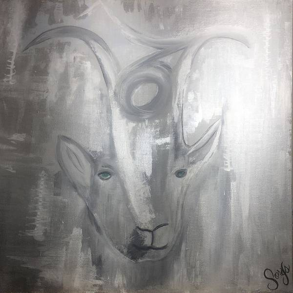 Painting - Capricorn  by Sorys Acevedo