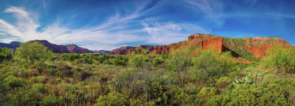 Photograph - Caprock Canyon Panorama 2 by Adam Reinhart