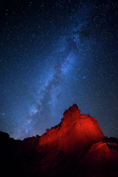 Panhandle Photograph - Caprock Canyons October Sky by Stephen Stookey