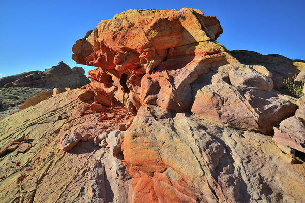 Photograph - Capstone Color In Valley Of Fire by Ray Mathis