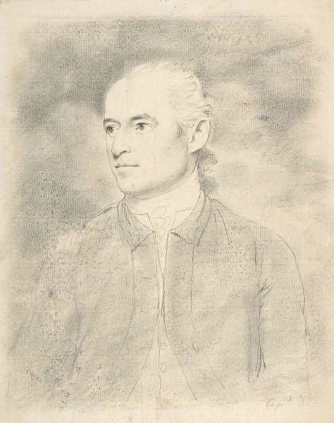Drawing - Captain Downman by John Downman