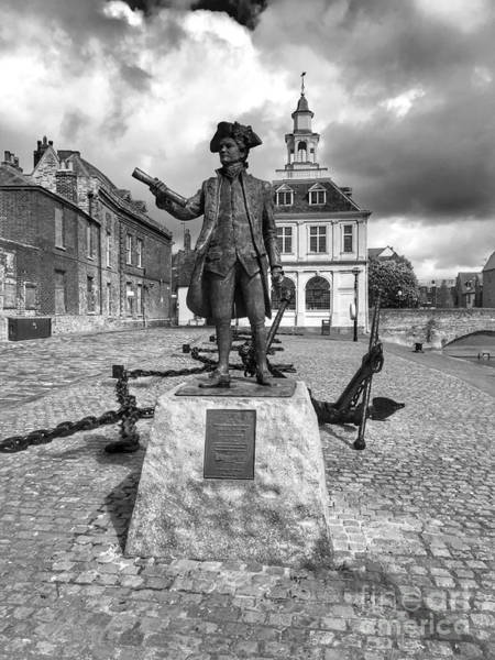 Kings Lynn Wall Art - Photograph - Captain George Vancouver  by John Edwards