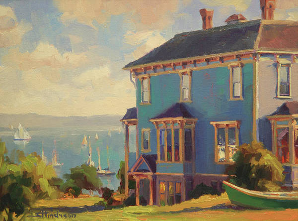 Wall Art - Painting - Captain's House by Steve Henderson