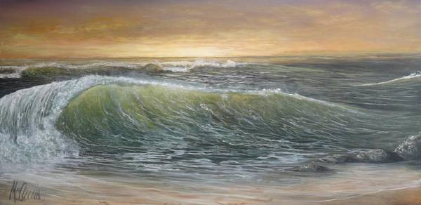 Captiva Island Painting - Captiva Breaker by Jk Mcgreens