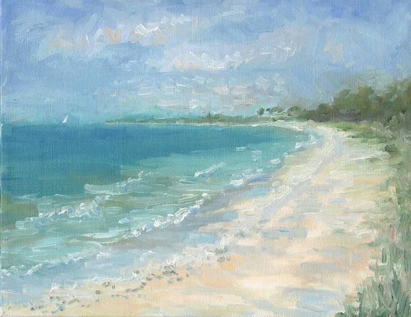 Captiva Island Painting - Captiva Island Beach by Rachel Ramm