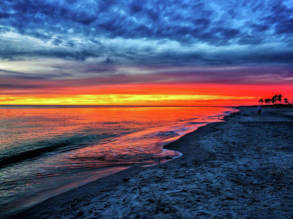 Photograph - Captiva Island Sunset by Louis Dallara