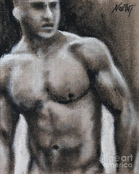 Painting - Captive by Jindra Noewi