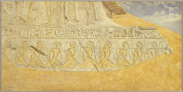 Roderick Painting - Captives Of Ramse by Henry Roderick