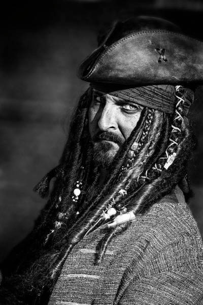 Photograph - Capt'n Jack by Wes and Dotty Weber
