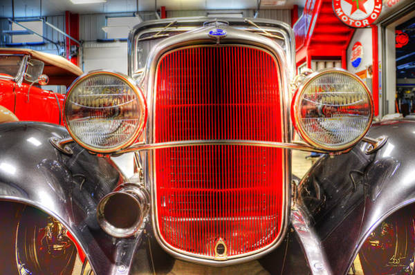 Photograph - Car 54 by Sam Davis Johnson