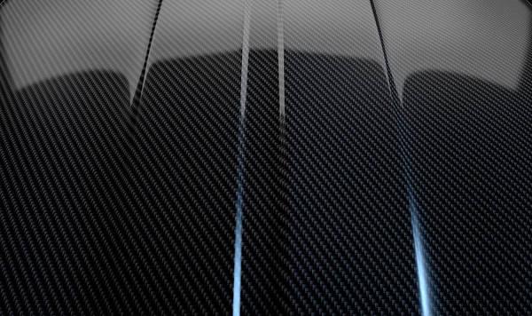 Contour Digital Art - Car Contour Carbon Fibre by Allan Swart