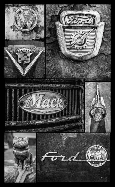 Photograph - Car Emblems by Matthew Pace