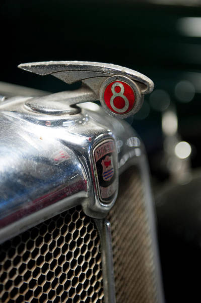 Photograph - Car Mascot V by Helen Northcott
