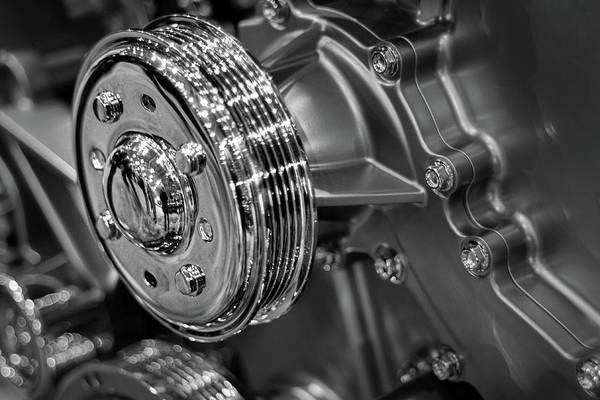 Photograph - Car Motor Details by Stuart Litoff