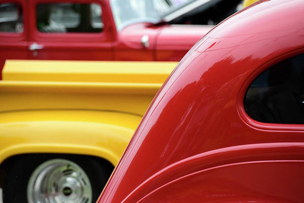 Wall Art - Photograph - Car Show Lines by Paul Freidlund