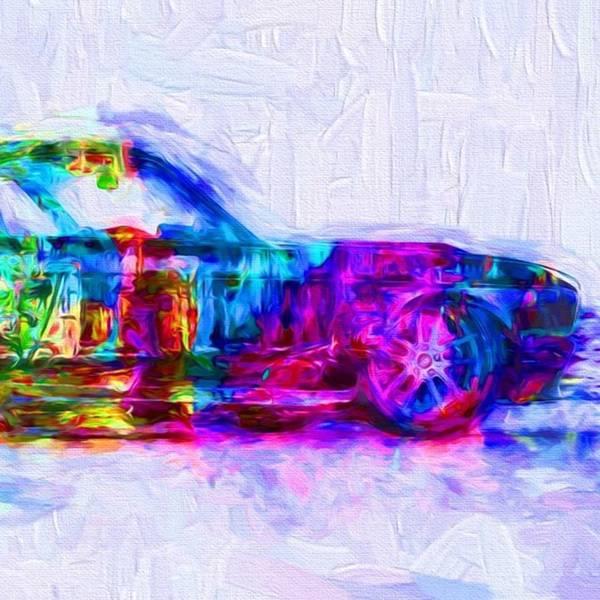 Wall Art - Photograph - #car #sportscar #racecar #nascar by David Haskett II