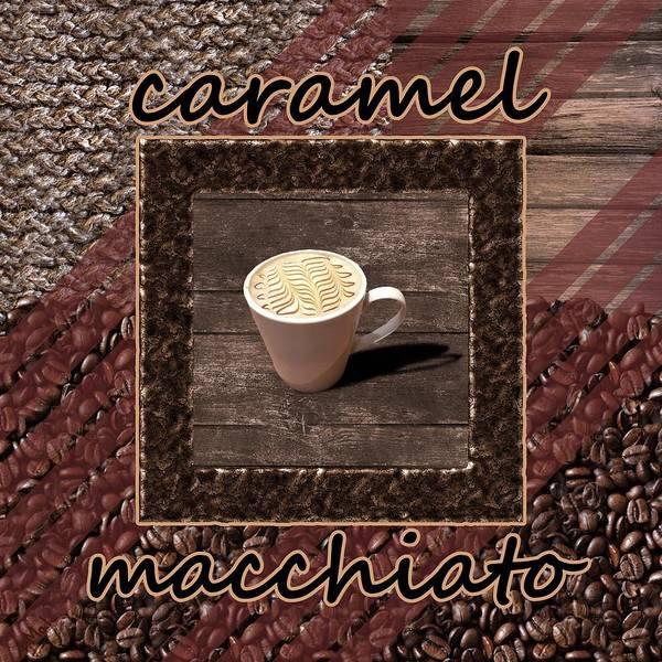 Photograph - Caramel Macchiato - Coffee Art by Anastasiya Malakhova