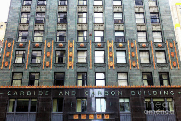Wall Art - Photograph - Carbide And Carbon Building Details by John Rizzuto