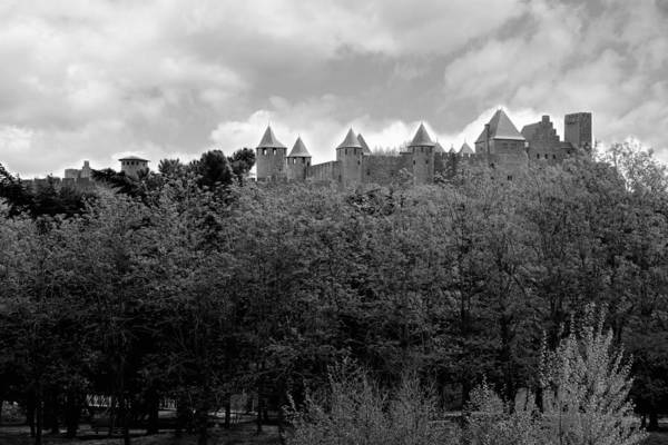 Photograph - Carcassone 1 by Andrew Fare
