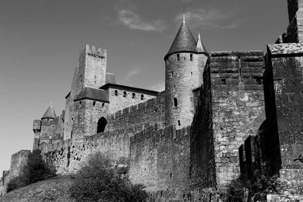 Photograph - Carcassone 2b by Andrew Fare