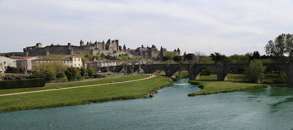 Photograph - Carcassone 3 by Andrew Fare