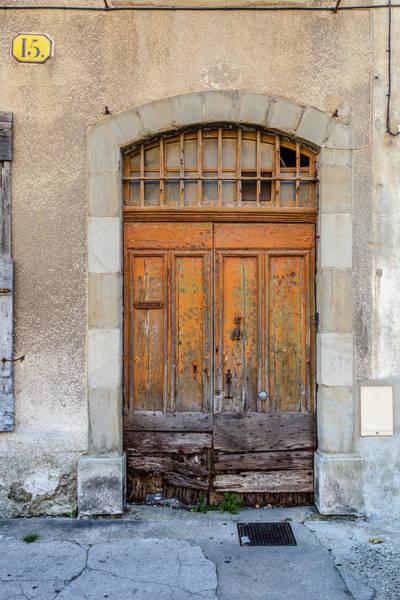 Wall Art - Photograph - Carcassone Door Number 15 by W Chris Fooshee
