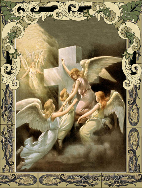 Photograph - Card Angels by Robert G Kernodle
