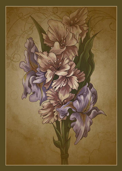 Photograph - Card Floral Anyttime by Robert G Kernodle