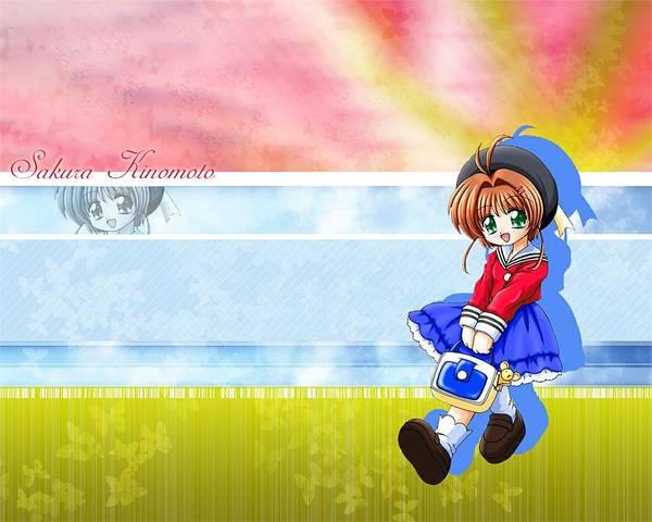Sports Digital Art - Cardcaptor Sakura by Maye Loeser