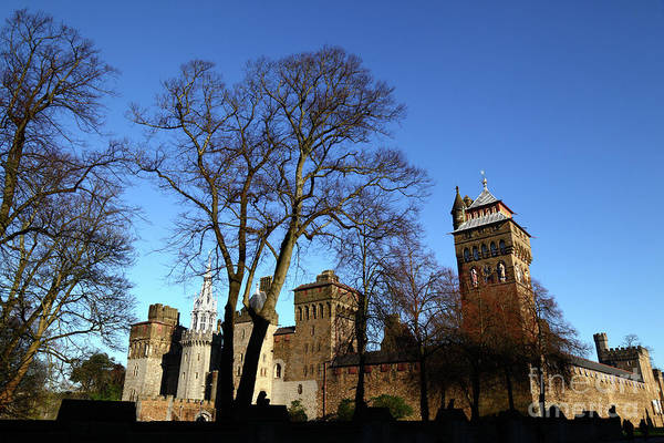 Photograph - Cardiff Castle Wales by James Brunker