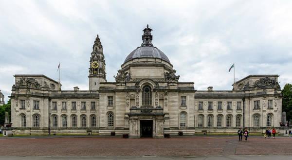 Photograph - Cardiff City Hall by Jacek Wojnarowski