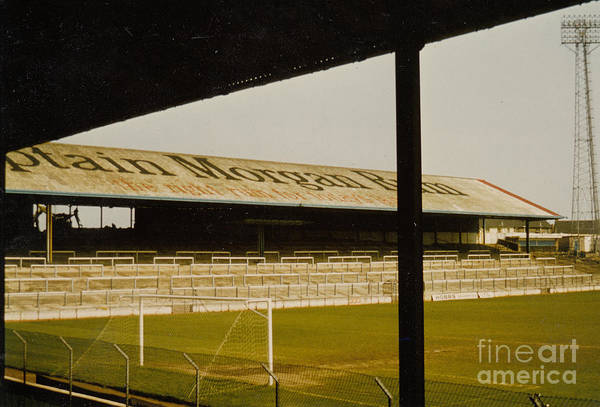 Wall Art - Photograph - Cardiff - Ninian Park - East Stand Railway Side 1 - 1970s by Legendary Football Grounds