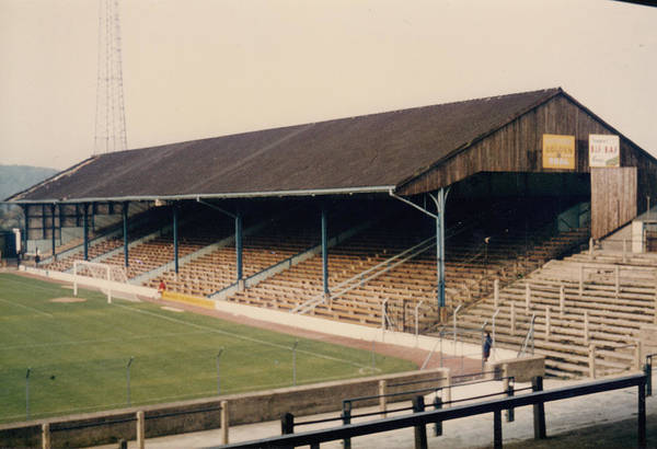 Wall Art - Photograph - Cardiff - Ninian Park - North Stand 1 - 1980s by Legendary Football Grounds