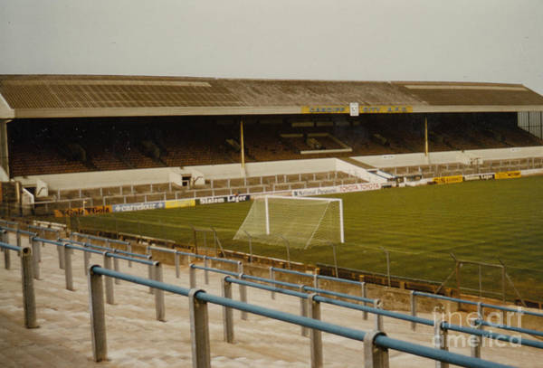 Wall Art - Photograph - Cardiff - Ninian Park - West Stand 2 - 1969 by Legendary Football Grounds