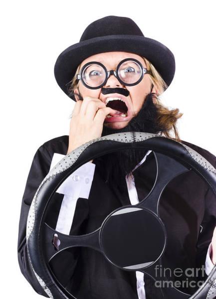 Mens Clothing Wall Art - Photograph - Careless Driver by Jorgo Photography - Wall Art Gallery