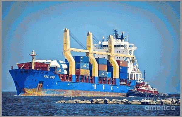 Photograph - Ship To Shore by Ken Williams
