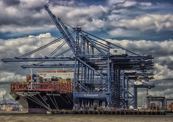 Transporter Wall Art - Photograph - Cargo Ship by Martin Newman