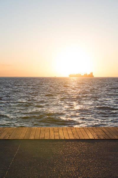 Photograph - Cargo Ship by Sotiris Filippou