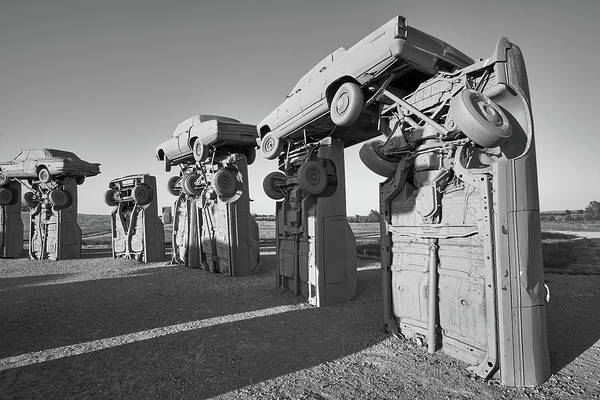 Nebraska Photograph - Carhenge 2 by Jim Hughes