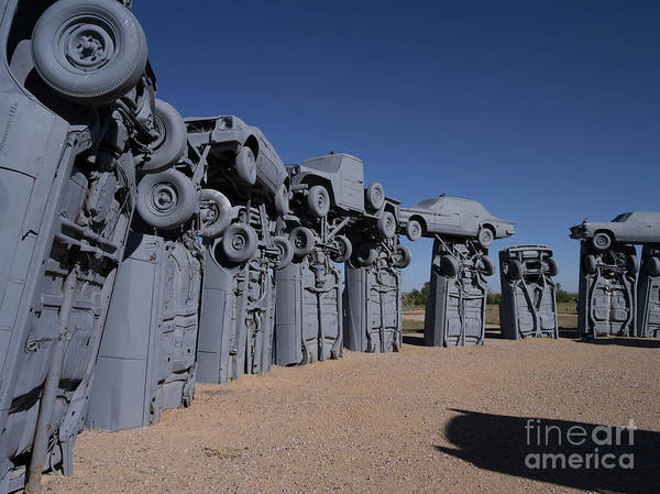 Wall Art - Photograph - Carhenge 23 by Tracy Knauer