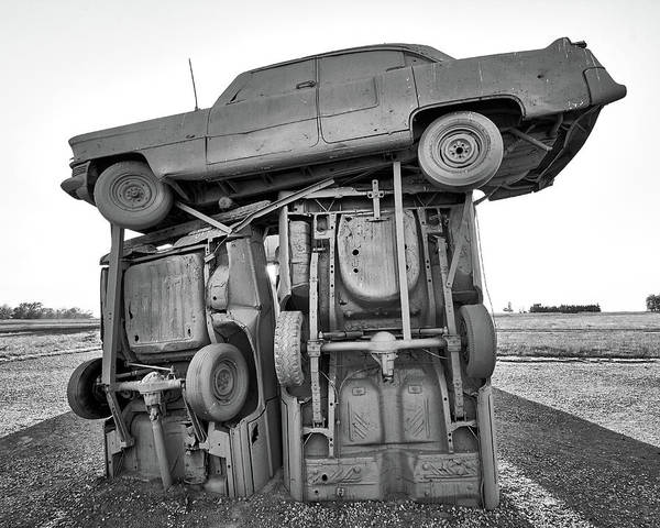 Nebraska Photograph - Carhenge 3 by Jim Hughes