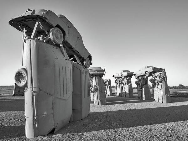 Nebraska Photograph - Carhenge 5 by Jim Hughes