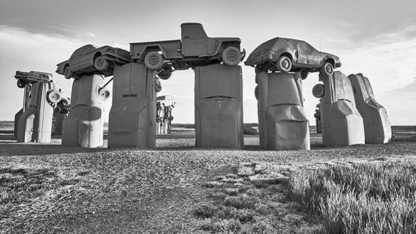 Nebraska Photograph - Carhenge by Jim Hughes