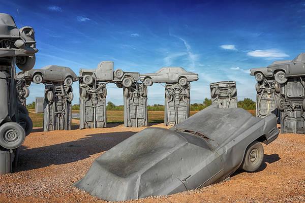 Photograph - Carhenge by Susan Rissi Tregoning